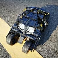 In Stock 76023 Batman Armored Tumbler Super Hero Movie Building Blocks Bricks Toys For Children Gift 1969pcs Compatible 07060