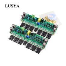 Lusya-placa amplificadora estéreo L15 MOSFET, 2 canales, AMP, 300W, clase 8R, AB, IRFP240, IRFP9240, A5-008, 1 par