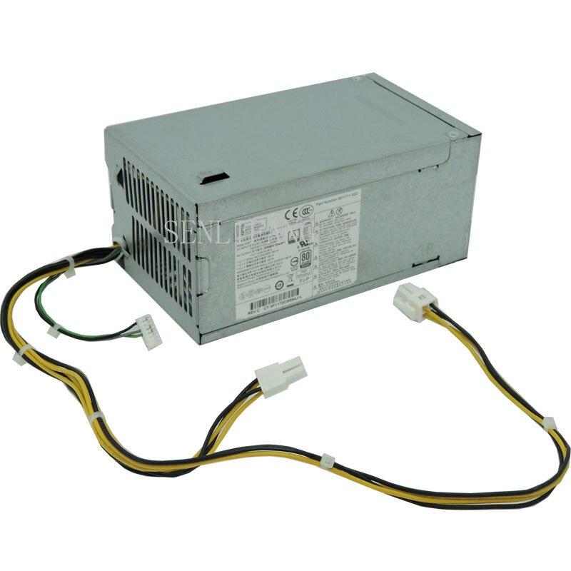 For HP 280 Pro G3 MT Power Supply PA-1181-6HY D16-180P3A  DPS-180AB 901771-003 001 180w 4+4pin
