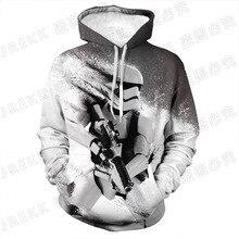 Newest Funny  Star Wars 3D print Hoodie Men Women Sweatshirt Jacket Pullover Top