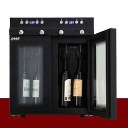 SC-4P podwójna temperatura stała świeżo utrzymująca się handlowa chłodziarka do wina w lodówce szafka do wina maszyna do wina lodowego
