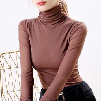 Autumn Korean Fashion Women Blouses Mesh Perspective Black Women Shirts Plus Size XXXL Womens Tops and Blouses Ladies Tops фото
