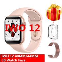 Smart Watch IWO 12 Smartwatch Series 5 IWO12 1:1 ECG Heart R