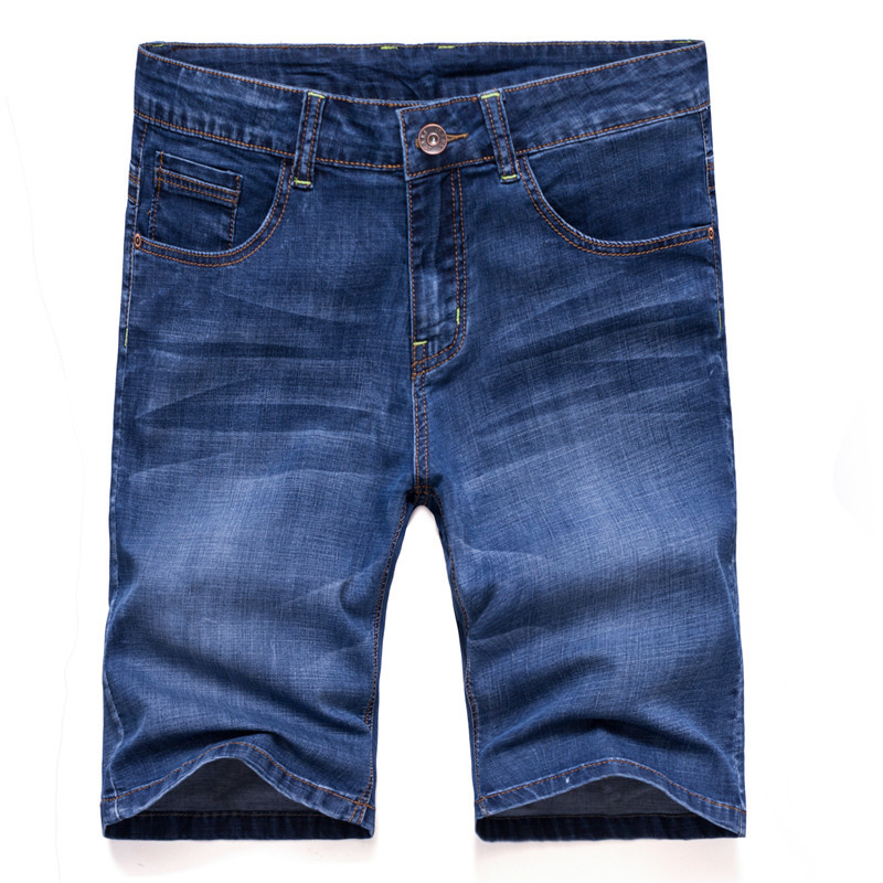 2019 Men's Trousers Summer New Style MEN'S Jeans Shorts Korean-style Trend Short Jeans Young MEN'S FASHION Pants