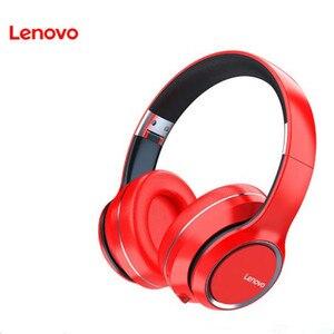 Image 1 - Lenovo سماعة رأس لاسلكية تعمل بالبلوتوث ، سماعة رأس استريو HIFI مع إلغاء الضوضاء لألعاب الفيديو ، طراز HD200