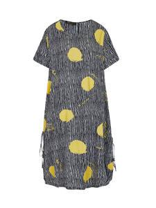 Платье в полоску Astrid, длинное Хлопковое платье в горошек с коротким рукавом и завязками, весна-лето 2020