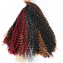 Passion Twist 18inch length Synthetic curly Hair extension F