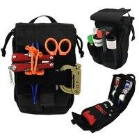 Taktische Erste Hilfe Medizinische Kits Reise camping Outdoor Set Auto Notfall Kits überleben military Erste Hilfe Taschen molle Tasche 2-in Sportliche Taschen aus Sport und Unterhaltung bei