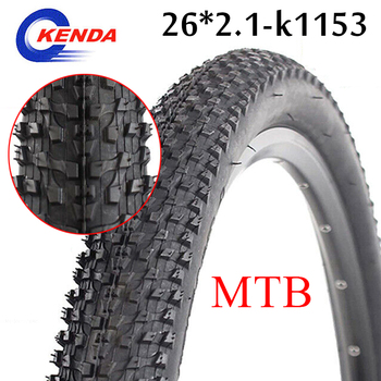 KENDA Mountain bike Tire 26*1.95 Ultralight 26*2.1 Tyre 60TPI Not Folded Non-slip 26 inch bicycle tire K1153 Cycling Parts image
