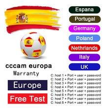 2021 linhas ccam para europa 7 linha DVB-S2 satélite gtmedia v8 nova v7s v9 freesat v7