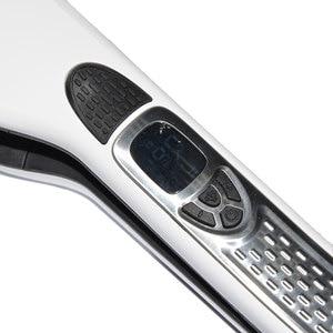 Image 3 - Steam Hair Straightener Brush Titanium Ceramic Flat Iron Professional Electric Hair Comb Fast Steampod Hair Straightener