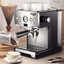 15bar Coffee Maker Espresso maker Semi-Automatic Pump Type Cappuccino Milk Bubble Maker Italian Coffee Machine CRM3605 for home
