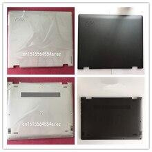 새로운 오리지널 노트북 레노버 요가 510 14 요가 510 14isk Lcd 후면 뚜껑 커버베이스 커버 케이스 블랙 화이트 5S50L45665