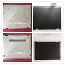 Lenovo funda para ordenador portátil Lenovo Yoga 510 14 Yoga 510 14isk, tapa trasera Lcd, cubierta base, negro, blanco, 5S50L45665