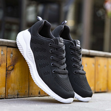Sneakers Sport-Shoes Lifestyle Women Female Lightweight Mesh Comfort Soft Breathable