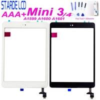 Для iPad mini 3 mini3 A1599 A1600 A1601 Touch для Ipad mini 4 mini4 A1538 A1550 сенсорный экран дигитайзер кнопка Home Бесплатные инструменты