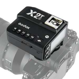 Trigger-Transmitter Bluetooth X2T-S Wireless with Simple Phone-Adjustment-Function Flash