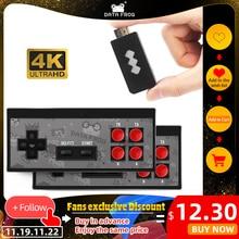 Dữ Liệu Ếch 4K HDMI Máy Chơi Game Được Xây Dựng Năm 568 Trò Chơi Cổ Điển Mini Retro Tay Cầm Điều Khiển Không Dây HDMI Đầu Ra hai Người Chơi