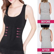 Women Sport Running Vest Shirt Removable Weight Loss Body Shaper Tank Top Corset Underwear Slimming Vest Corset Shapewear