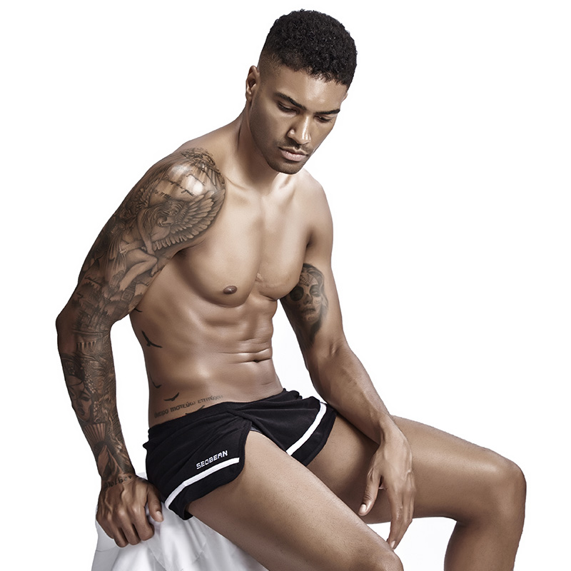 Man's Underwear Men's Underpants Boxer Men Ropa Interior Hombre Towel Fabric Cueca Masculina Mesh Line Boxer Homme Bielizna