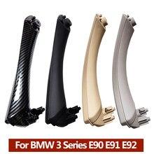 LHD RHD качественная внутренняя пластиковая дверная ручка с крышкой отделка для BMW 3 серии E90 E91 E92 316 318 320 325 328i