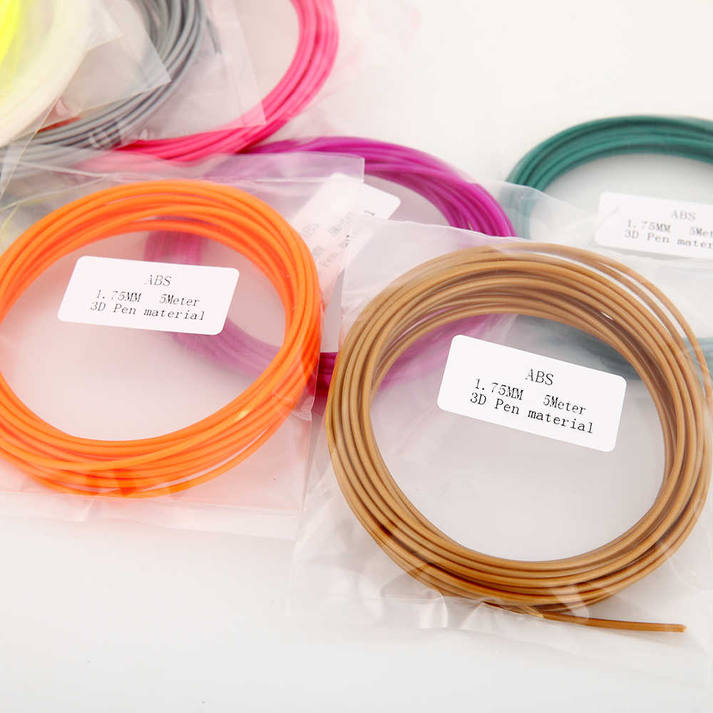 Sunlu SL-300A pla filamento 5 m precisão dimensional +/-0.02mm 1.75 pla 3d impressão materiais enviar por cor aleatória