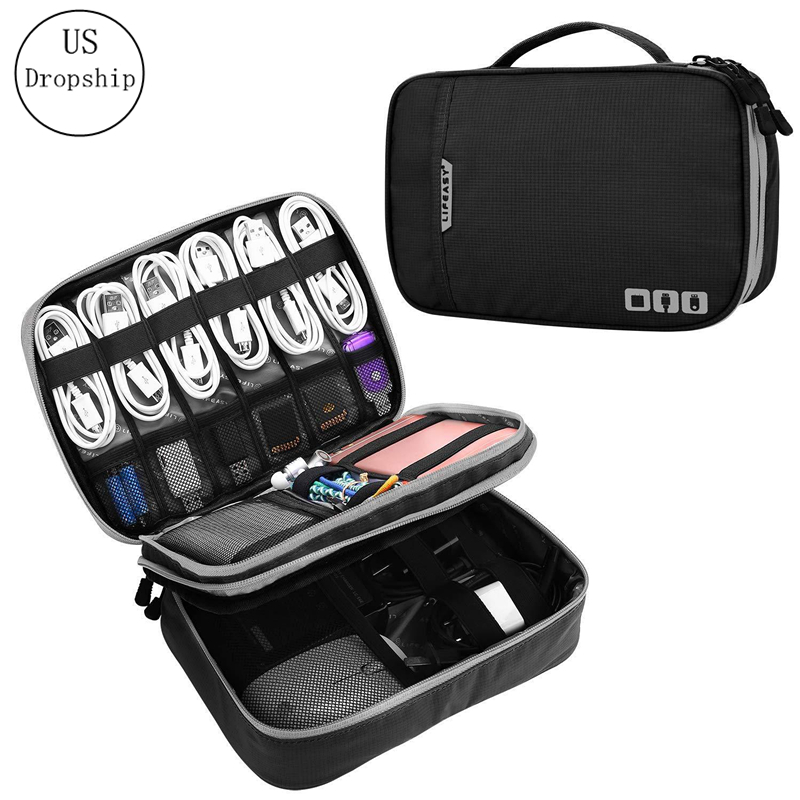New Multifunction Digital Product Storage Bags Travel Charger Data Line Headset Organizer Cosmetic Bag Accessories