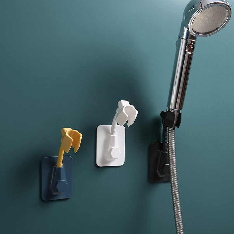 Lagerung Rack Wc Rack wand Dusche Halter Düse Basis Bad ohne Stanzen wand-montiert Fan Halter