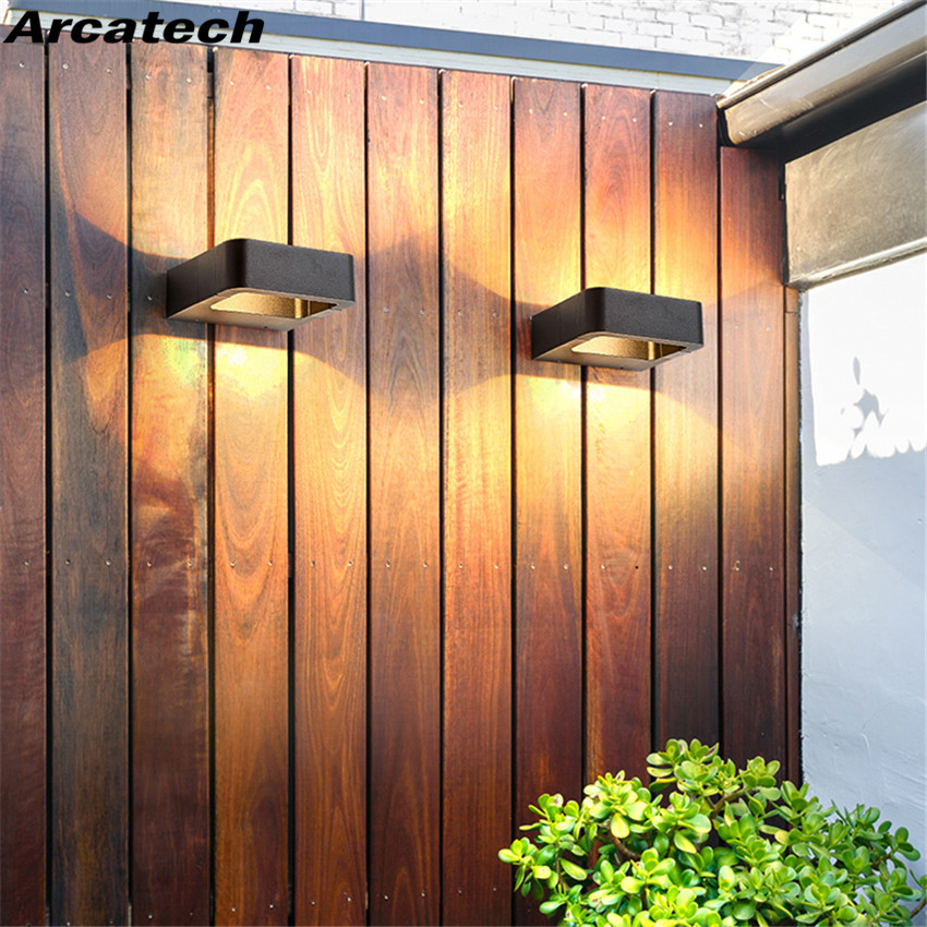 LED Wall Light Outdoor Waterproof Porch Light Garden Lamp Modern Indoor Wall Lamps Living Room Corridor Patio Lighting  NR-113