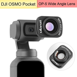 Magnetic Large Wide-Angle Lens for DJI Osmo Pocket Accessories Professional HD Magnetic Structure Lens For Ulanzi Osmo Pocket
