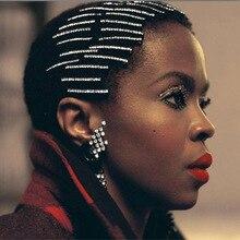 Women Crystal Hair Clips