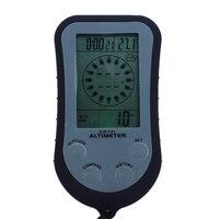 Multifunções digital altímetro bússola termômetro previsão do tempo barômetro calendário de tempo relógio lcd backlight caminhadas ferramentas|Instrumentos de medição de altura| |  -