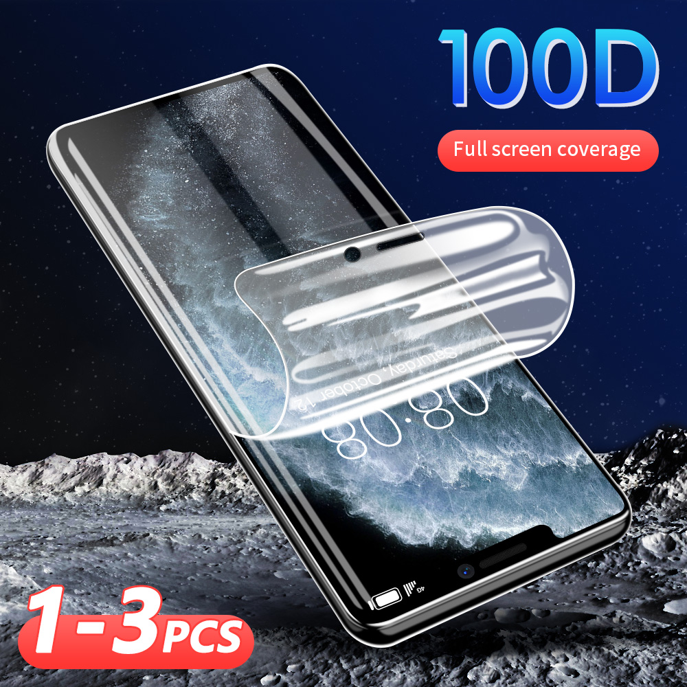 100D Not Glass Hydrogel <font><b>Film</b></font> For <font><b>iPhone</b></font> X XR XS MAX 11 Screen Protector HD For <font><b>iphone</b></font> <font><b>6</b></font> 6s 7 8 plus X 11 Pro Max Protective <font><b>Film</b></font> image