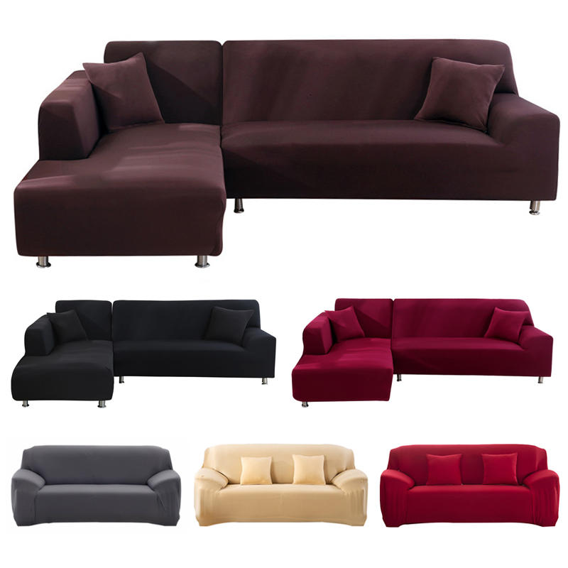 Universal Elastic Home Sofa Cover Slip-resistant Tight Wrap All-inclusive Slipcover Furniture Loveseat Protector Cover