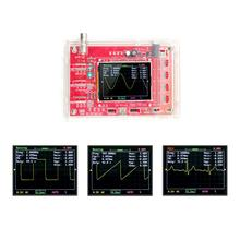 """บัดกรี DSO FNIRSI 138 2.4 """"TFT Handheld พ็อกเก็ตดิจิตอลชุด Oscilloscope SMD + Acrylic DIY Case COVER SHELL"""