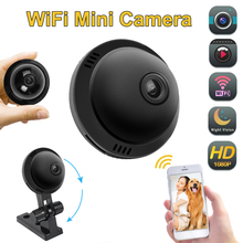 Mini 1080P WIFI IP Camera Wireless Home Security CCTV IR Night Vision Motion Detection Portable Smallest Wireless Micro Camera