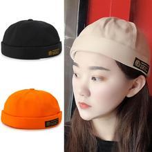 Hats Beanie Hip-Hop Retro Women Cotton for Warm-Shape Landlord-Cap Hot-Sale Hot-Sale