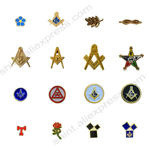 Masonic smaller Lapel Pins Badge Mason Freemason FORGET ME NOT Sun past master Commemorative Freemasonry accessories
