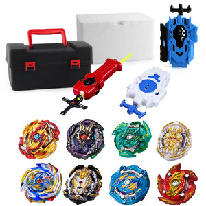 Latest hot Set sale Launchers Beyblade Toupie bursts Metal God Spinning Top Bey Blade Blades Toy 2165723(China)