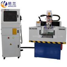 MINGLAN CNC Hot sale Metal-Engraving-Machine 4040  cnc router 6060 moulding machine