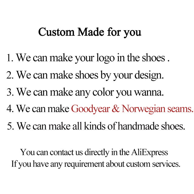 Leather Shoes Men Real Genuine Leather Custom shoes 6