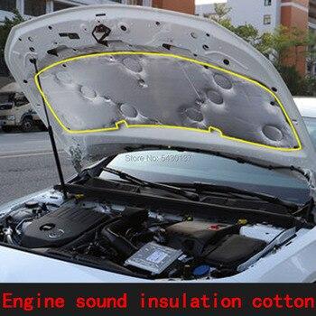 Suitable for Mercedes-Benz new A-class A200L engine sound insulation cotton a180la220l modified hood insulation cotton pad