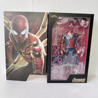12inch 30cm Hot Movie Spiderman HC Avengers Infinity War Iron Spider Man Action Figure Collectible Model Toy