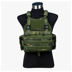 2020 NEW  Scarab Multicam Tropic tactical vest YKK zip MTP Tactical vest with EVA plates