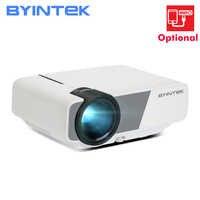 BYINTEK SKY K1/K1plus mini LED video projector voor home theater (Optioneel: ondersteuning verbinding smartphone projectie)