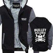 Mannelijke present Fashion Bullet Club New Japan Pro Wrestling dikke jas Casual sweatshirt hoodie Mode Katoen warme jas sbz5180