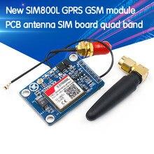Módulo SIM800L GPRS GSM con antena de PCB, tarjeta SIM, Quad band, MCU, Arduino