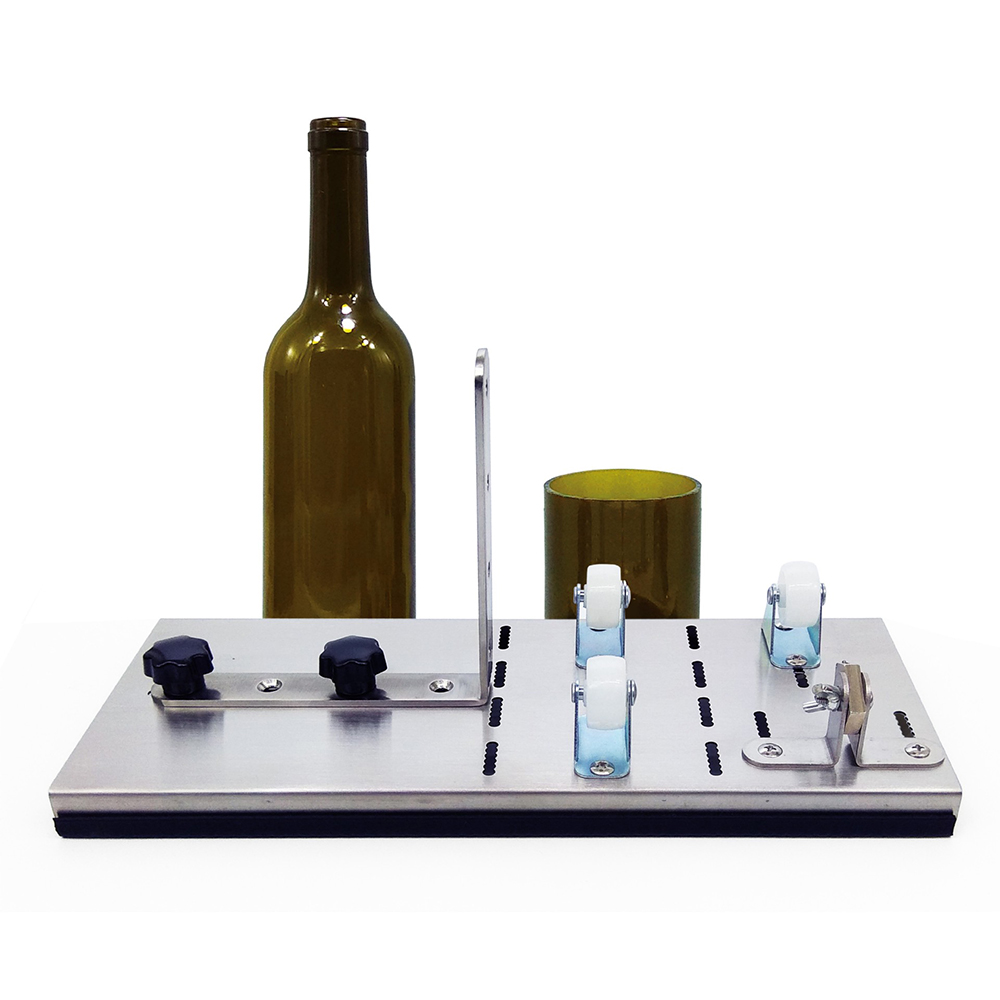 New Staine Glass Bottle Cutter Machine Wine Beer Glass Bottles Cutting Tool