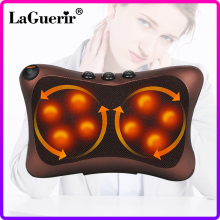 Neck Massager Car Home Cervical Shiatsu Heating Massage Neck Back Waist Body Electric Multifunctional Massage Pillow Cushion
