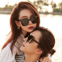 2020 Korea Brand GENTLE Her Sunglasses Big Square Cat eye Acetate Polarized UV400 Sunglasses women men with Original Packaging